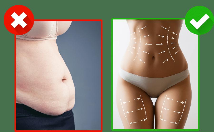 In einer Woche abnehmen 5 Kilo in einer Woche